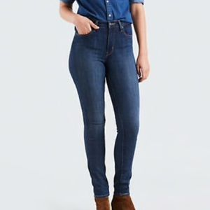 Levi's 721 High-Rise Skinny Jeans in Blue Story